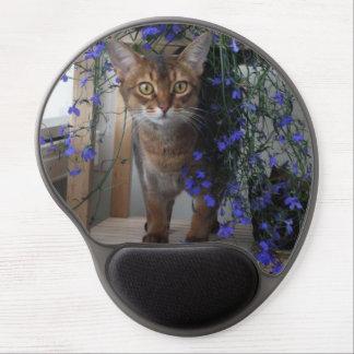 Flower Cat Gel Mouse Mat