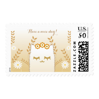 Flower Cat stamps