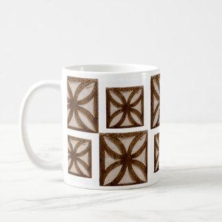 Flower Cement Block mug