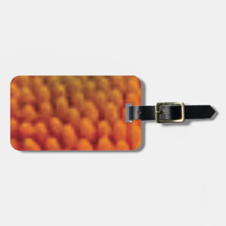 flower center rods luggage tag