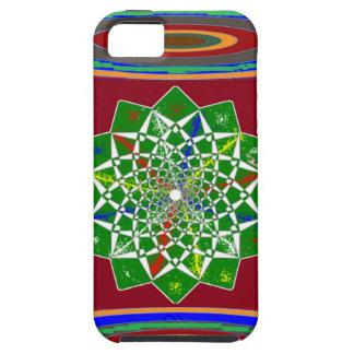 FLOWER CHAKRA Wheel Energy: Emerald Green iPhone 5 Cover