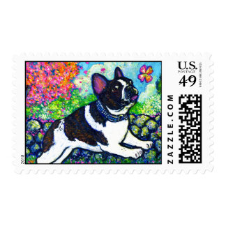 Flower Chaser Postage Stamps