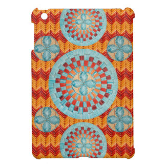 Flower Chevron Design iPad Mini Cases