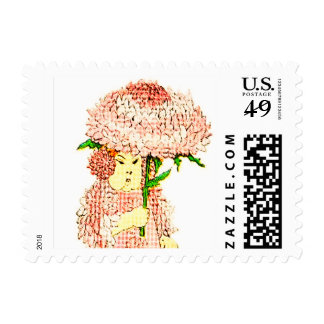 FLOWER CHILD - ASTER FLORAL FAIRY POSTAGE