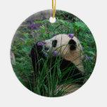 Flower Child Bao Bao Giant Panda Cub ornament