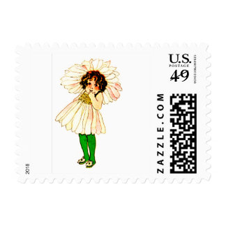 FLOWER CHILD - DAISY FLORAL FAIRY POSTAGE
