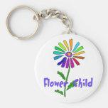 Flower Child Keychains