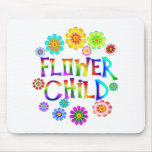 FLOWER CHILD MOUSE PAD