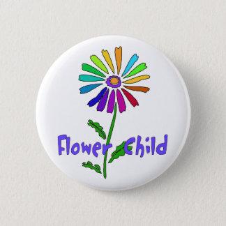 Flower Child Pinback Button