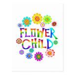 FLOWER CHILD POST CARDS