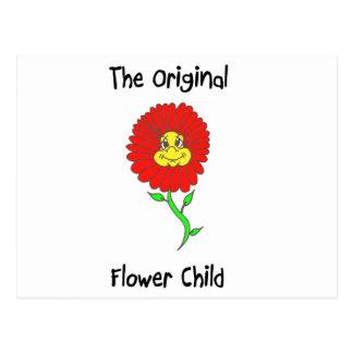 Flower Child Postcard