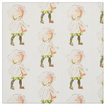 FLOWER CHILD -SWEET PEA FLORAL FAIRY PATTERN FABRIC