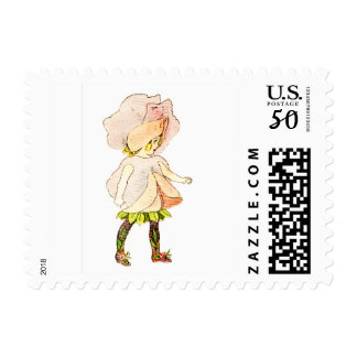 FLOWER CHILD -SWEET PEA FLORAL FAIRY POSTAGE