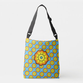 Flower Child Tote Bag Blue
