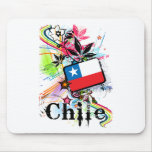 Flower Chile Mouse Pad
