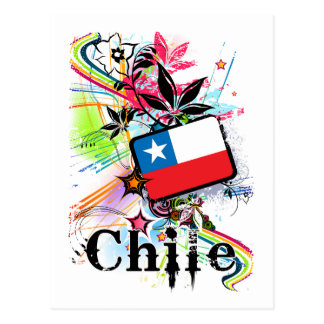 Flower Chile Post Cards