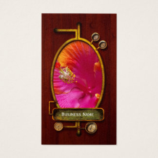 Flower - Chinese Hibiscus - Appreciation Business Card