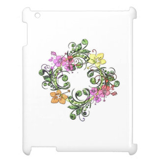 Flower Circle Case For The iPad