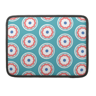 Flower Circle Sleeve For MacBook Pro