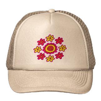 Flower Circle Trucker Hat