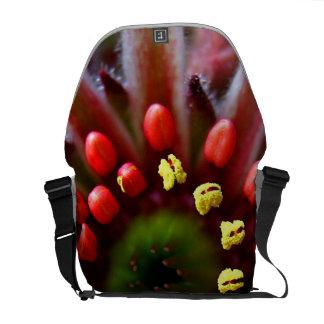 Flower Close Up Messenger Bags