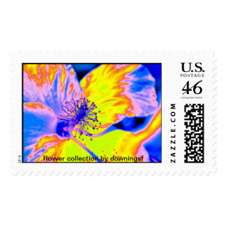 flower collection by downingsf stamp