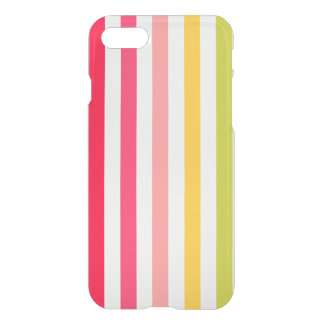 Flower-colored Stripes iPhone 8/7 Case