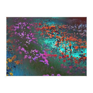 flower colour canvas print
