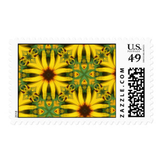 flower connection postage stamp
