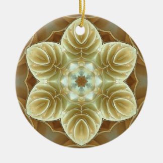 flower coquille ornaments