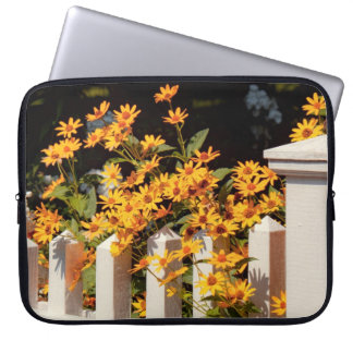 Flower - Coreopsis - The warmth of Summer Laptop Computer Sleeves