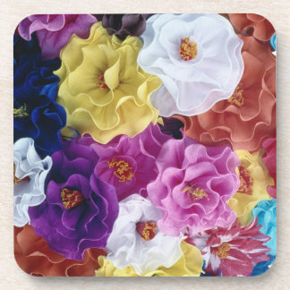 Flower Cork Coaster