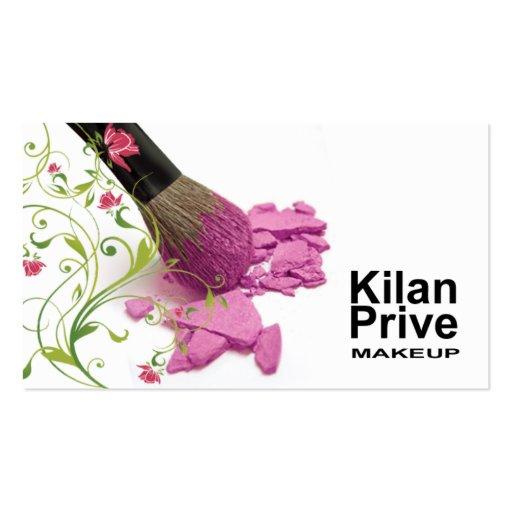 """""""Flower Cosmetics"""" Makeup Artist Cosmetologist Business"""