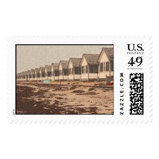 flower cottages stamp