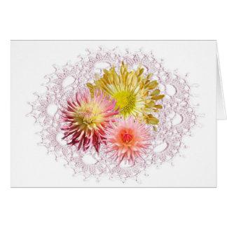 Flower Crochet Card