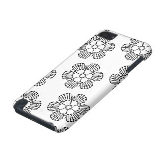 Flower Crochet Chart Pattern (Tiled) iPod Touch (5th Generation) Case