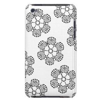 Flower Crochet Chart Pattern (Tiled) iPod Touch Case