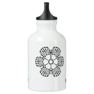 Flower Crochet Chart Pattern Water Bottle