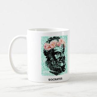 Flower Crown Socrates And Epictetus Mug