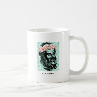 Flower Crown Socrates Mug