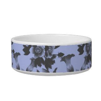 Flower Damask blue Bowl