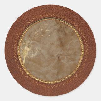 Flower - Dandelion - Gesundheit Classic Round Sticker