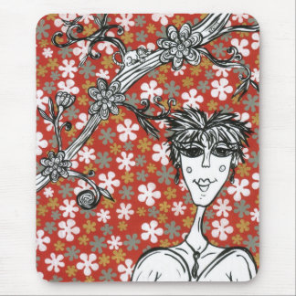Flower Days Mouse Pad