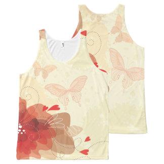 Flower Decor 17 All-Over-Print Tank Top