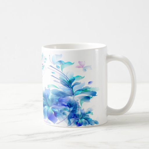 Flower Decor 23A Mugs