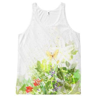 Flower Decor 30 All-Over-Print Tank Top