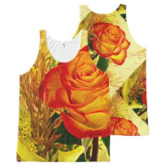 Flower Decor 32 All-Over-Print Tank Top