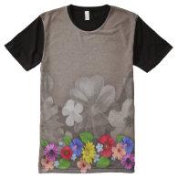 Flower Decor 57 All-Over Print T-shirt