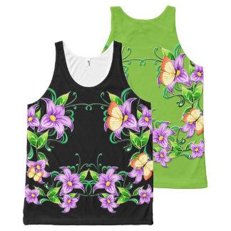 Flower Decor 5A All-Over-Print Tank Top