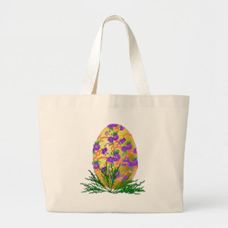Flower Decorated Egg Bags